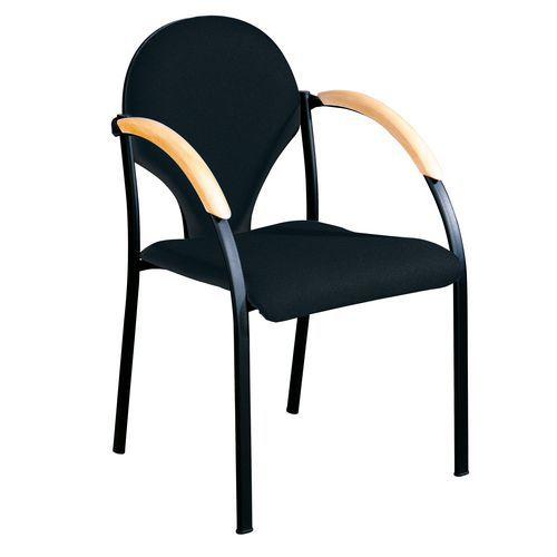 Konferenční židle Neo Black, modrá