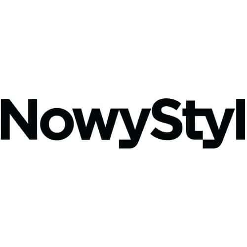 Pracovní stolička Golia s kolečky, modrá