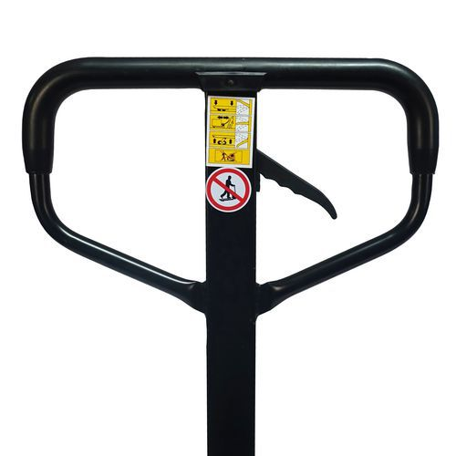 Paletový vozík s krátkými vidlicemi, do 2 000 kg, gumová řídicí kola