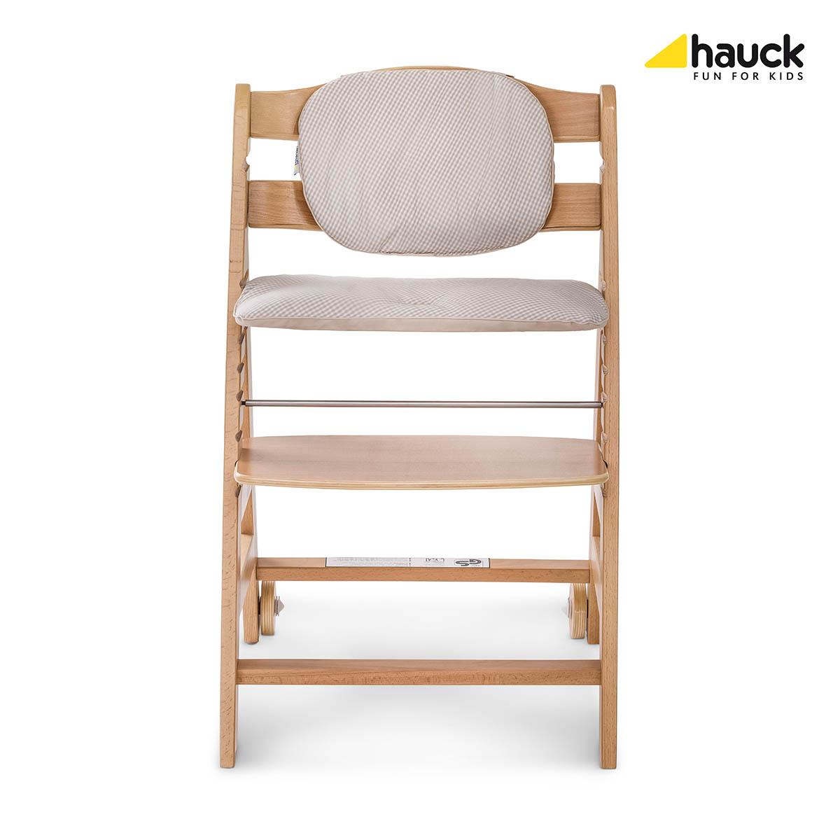 Hauck Beta+ 2019 židlička dřevěná natur