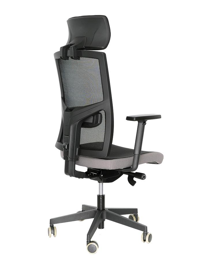 Kancelářská židle Game šéf VIP Černá/šedá