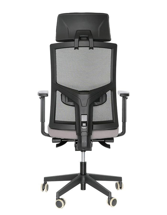 Kancelářské židle Alba - Kancelářská židle Game šéf VIP Černá/šedá