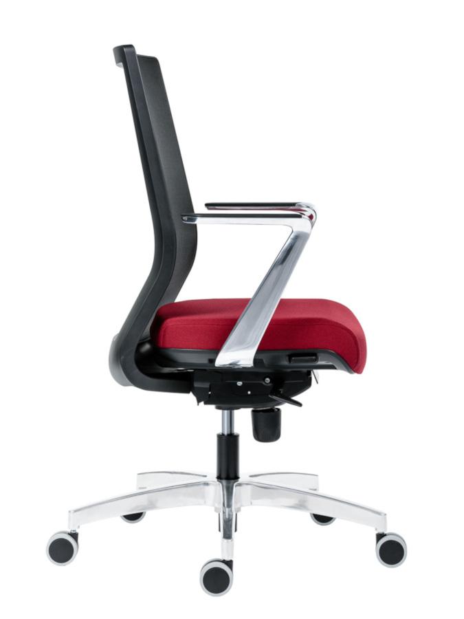 Kancelářské židle Antares - Kancelářská židle 1990 SYN TITAN MESH ALU