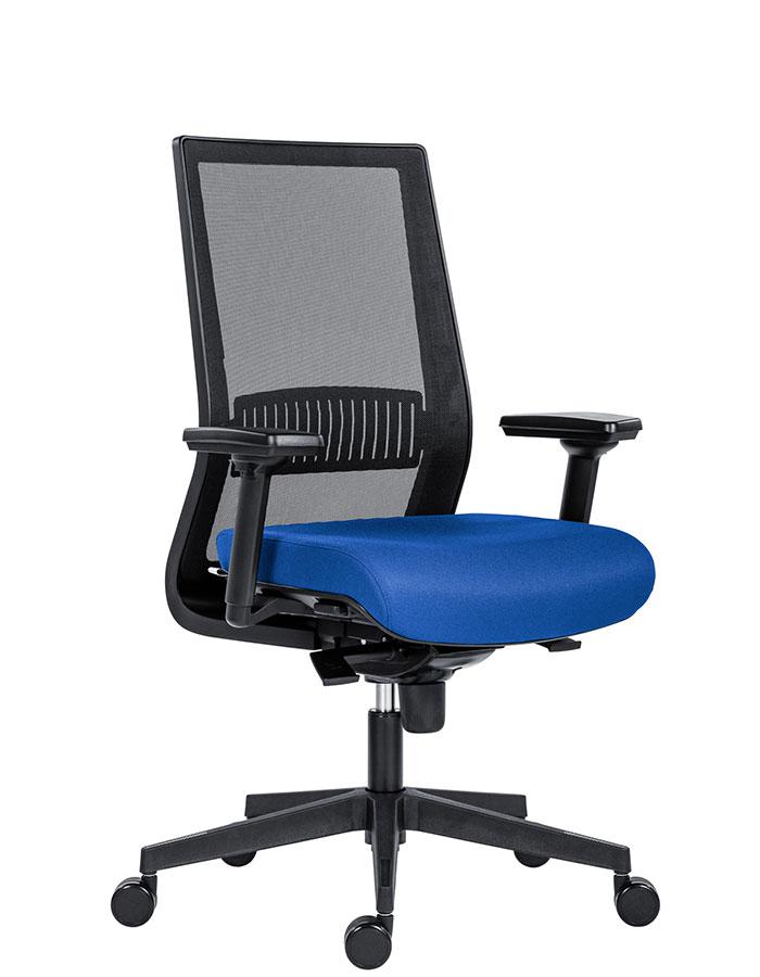 Kancelářské židle Antares - Kancelářská židle 1990 SYN TITAN MESH