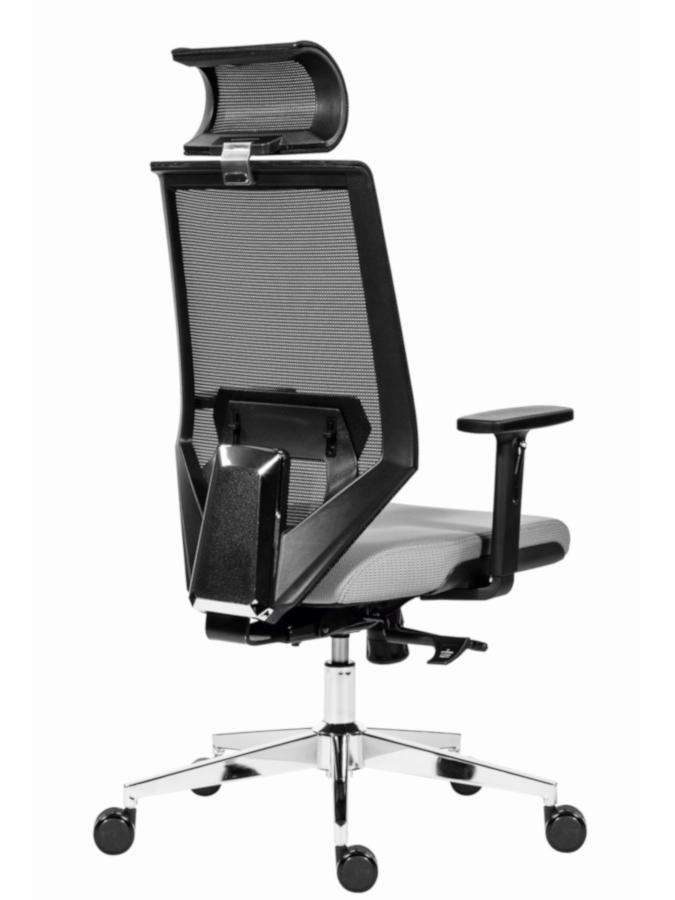Kancelářské židle Antares - Kancelářská židle Edge šedá
