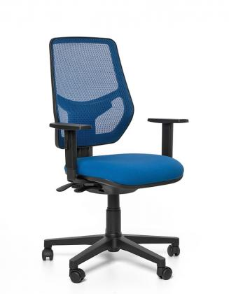 Kancelářské židle Emagra Kancelářská židle LEX 230/B modrá