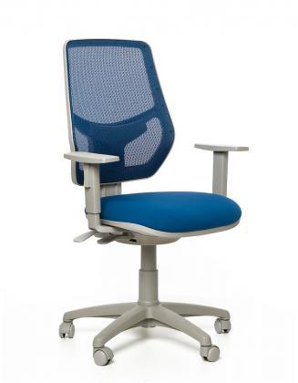 Kancelářské židle Emagra Kancelářská židle LEX 230/BG modrá