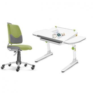 Sety stolů a židlí Mayer dětský set Actikid A3 zelený W58
