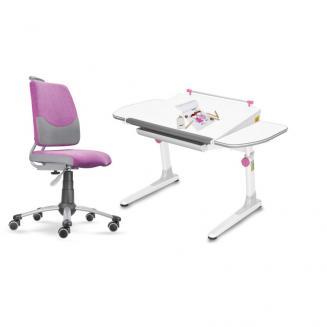 Sety stolů a židlí Mayer dětský set Actikid A3 růžový W58