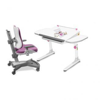 Sety stolů a židlí Mayer dětský set MyChamp růžový W58