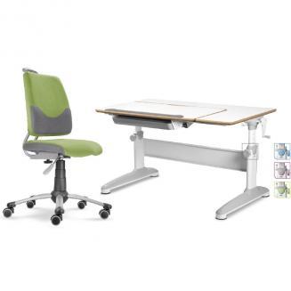 Sety stolů a židlí Mayer dětský set Actikid A3 zelený Expert