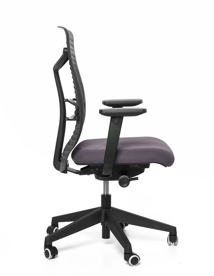 Kancelářská židle ATHENA/B antracitová 65070