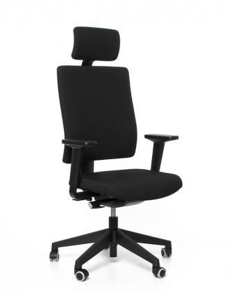 Kancelářské židle Emagra Kancelářská židle BUTTERFLY P černá 60999