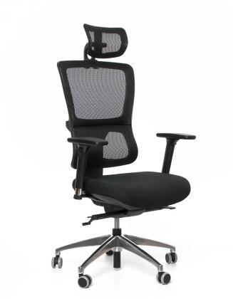 Kancelářské židle Emagra Kancelářská židle X4 černá E1/G52 4M 18 s podhlavníkem