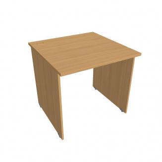 GATE - Stoly pracovní rovné Kancelářský stůl rovný 80 cm - GS 800 buk
