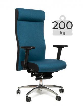 Kancelářské křeslo Multised Kancelářské křeslo BZJ 485 modrá